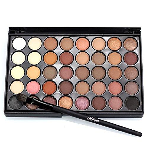 40 Farben Eyeshadow Lidschatten-Palette Makeup Kit Set Make Up Professional Box
