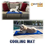 Walky Dog Cooling Mat - NO Chilling or Freezing Required - Pressure Activated Cooling Mat - Works on Any Surface - Works Indoors or Outside (Large) 35 7 16 X 19 3 4