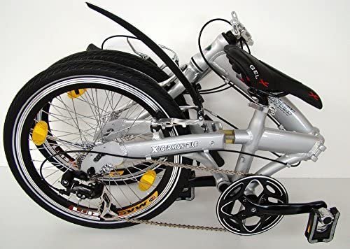 Bicicleta Plegable xGerman Elegante luz 8 Gang: Amazon.es: Deportes y aire libre