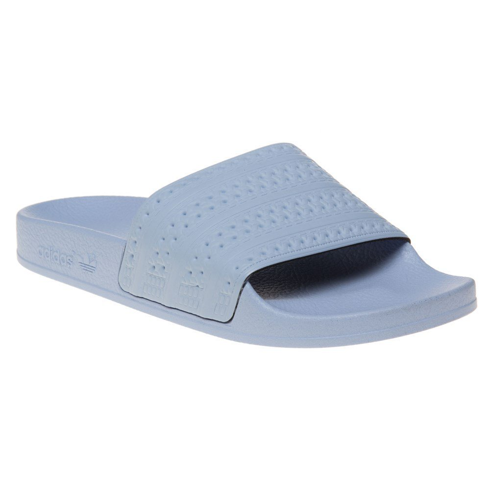 adidas Adilette Unisex Slide Pastel Blue - 4 UK by adidas