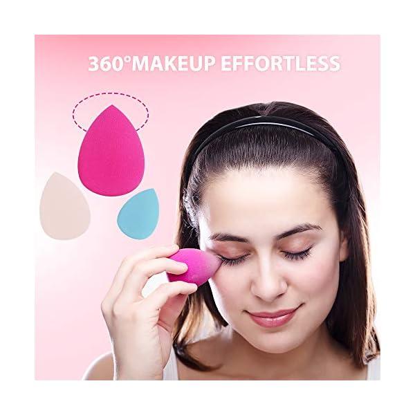Beauty Makeup Sponge | New 9 Pack Makeup Blenders Cosmetic
