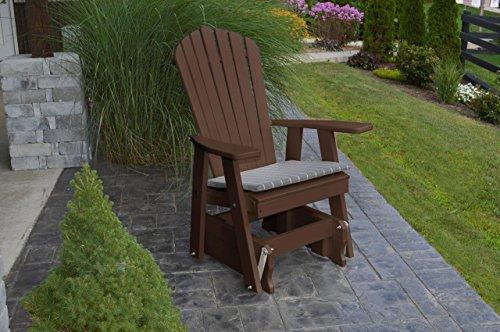 Furniture Barn USA Outdoor POLY Adirondack Gliding Chair - Tudor Brown