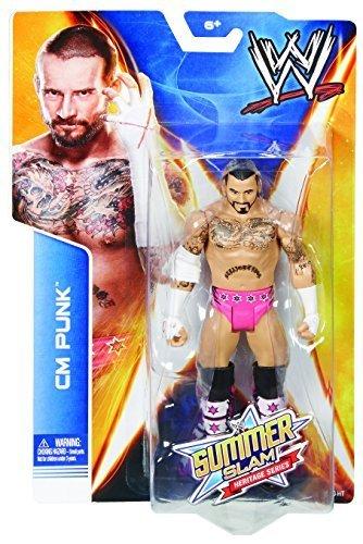 WWE Cm Punk - Summerslam Heritage Series (Pink Bret Hart Tribute Version)