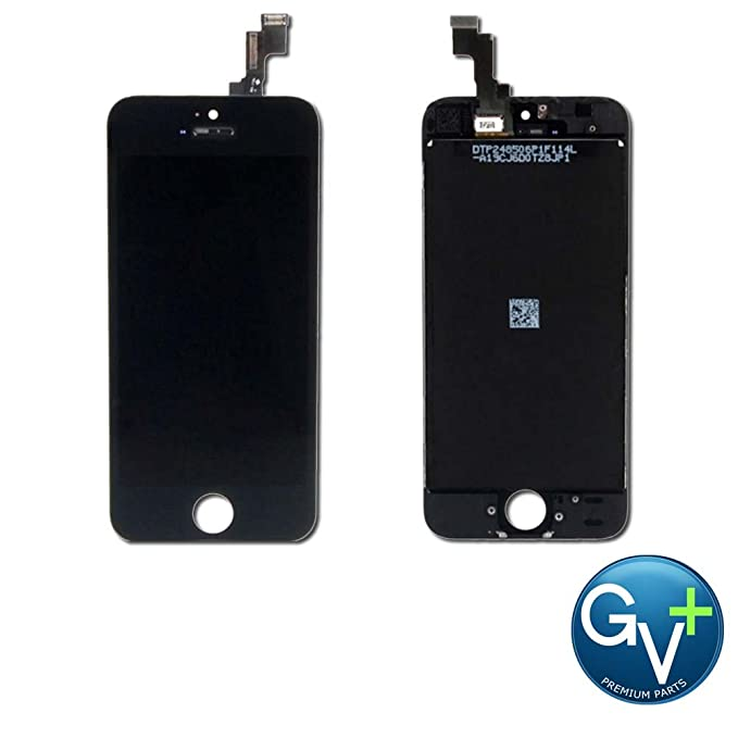0ec9bb49ed4eb1 Image Unavailable. Image not available for. Color: Group Vertical Replacement  Screen Assembly Compatible with iPhone 5S, SE ...