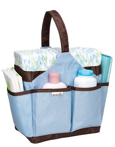 Munchkin Portable Diaper Caddy Blue