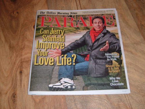 Parade magazine, February 14, 2010-Jerry Seinfeld-new T.V. Show, The Marriage Ref. (Marriage Ref compare prices)