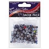 Darice Rhinestone Setter Hot-Fix Embellishments 5mm 400/Pkg: Multi Glass Stone