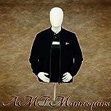 Male Mannequin Torso w Head Countertop Display White