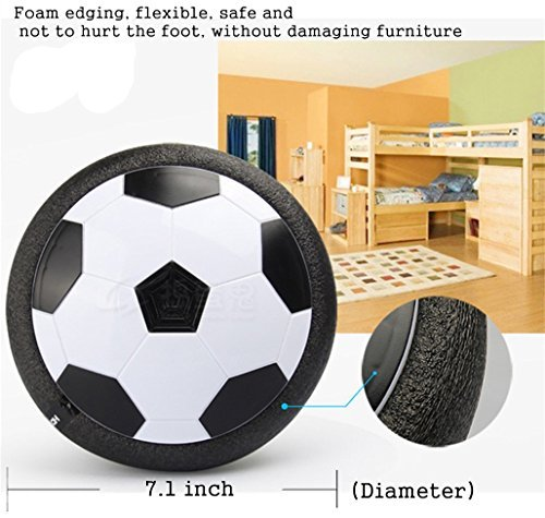 Gloween Kids Toys, Hover Soccer Ball Air Power Disc for Boys and Girls Age of 2,3,4,5,6,7,8+Years Old, Indoor Sport Ball with Led Lights for Toddlers, Kids,Children Gifts - coolthings.us