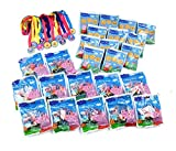 Peppa Pig Cookies, Candy and Medals Birthday Party Supply Pack for 12 Guests