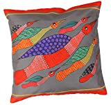 SouvNear 18 x 18'' Throw Pillow Cover - Southwest Decorative Zippered Cushion Cover - Handmade / Home Furnishings for Couch, Sofa, Ottoman, Bed - Housewarming Ideas