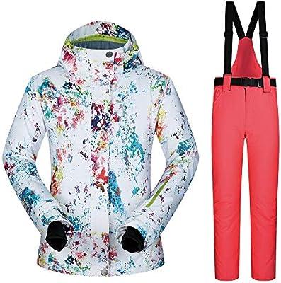 Traje de esquiar Chaqueta con capucha de snowboard con estampado ...