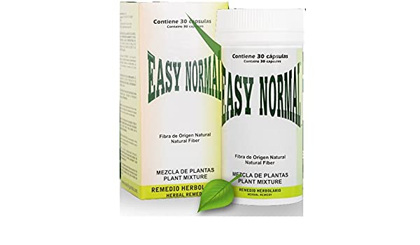 Amazon.com: Easy Normal The Original Diet Capsule from Mexico, 30 Capsules, Natural Weight Loss, Natural Vegetal Origin, with Omega 3 and 6: Health ...