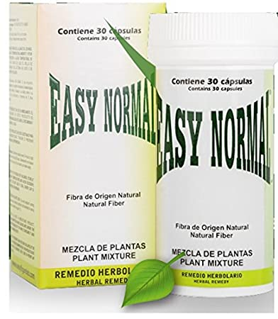 Easy Normal The Original Diet Capsule from Mexico, 30 Capsules, Natural Weight Loss,