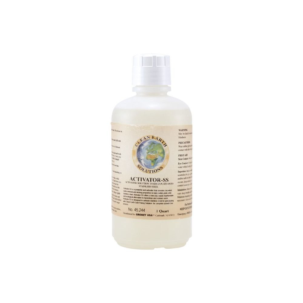 CLEAN EARTH STAINLESS STEEL ACID ACTIVATOR, Size - 1 Quart