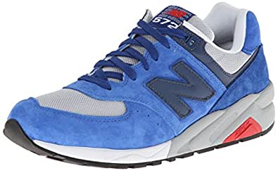 New Balance Men's MRT572 Classic Running Shoe,Blue/Grey,8 D US