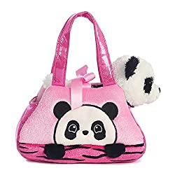 Aurora World Fancy Pals Peek-a-boo Panda Pet Carrier