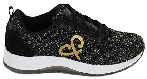 SOCCX Damen Running Sneakers SCU-1855-8506 Black - eine Neue Kolektion 2018