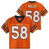 OuterStuff Von Miller Denver Broncos Orange Youth Player Home Jersey