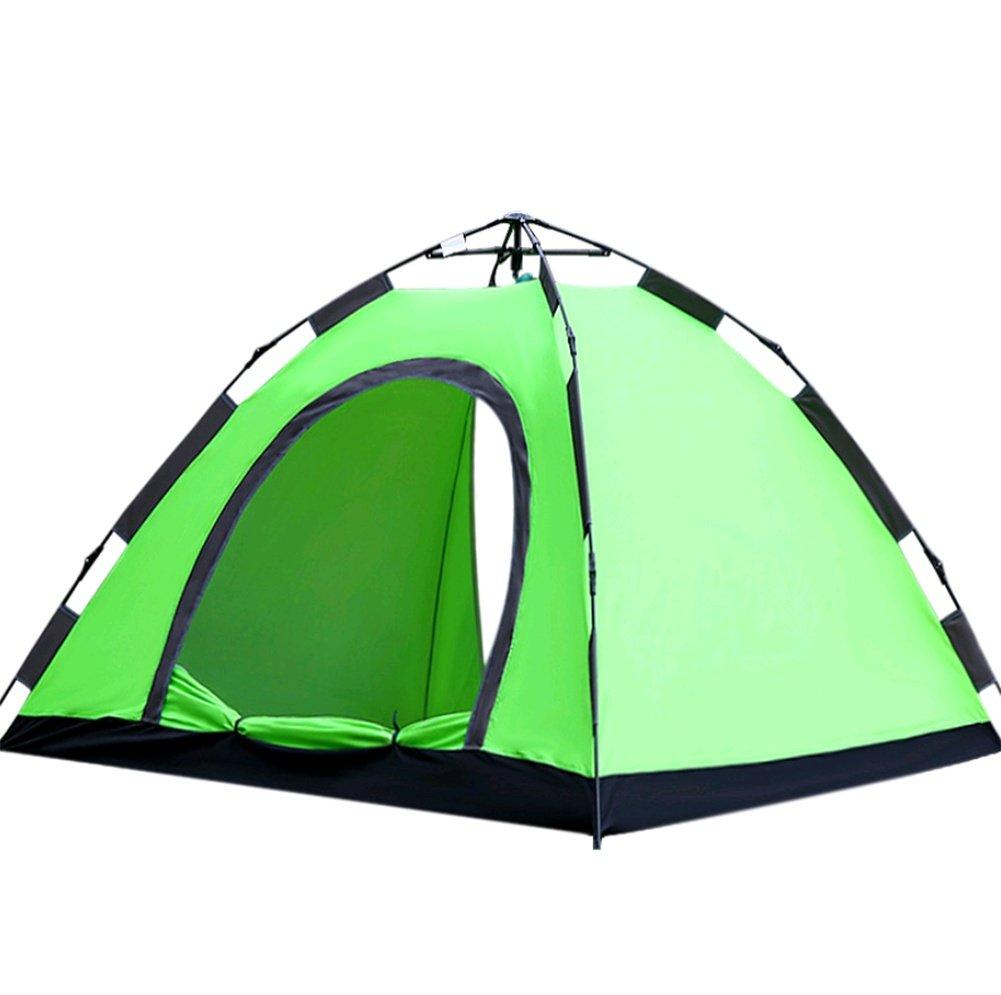 ZHANGP Freien kampierendes automatisches Zelt drei Leute freie Installation zwei Sekunden schnelles geöffnetes kampierendes Zelt