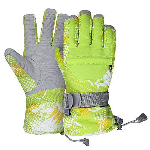 Winter Gloves, GARDOM Warm Gloves Water Resistant Breathable Anti-slip with Zipper Pocket for Women Men Outdoor Skating Cycling - Of Men Women Ax
