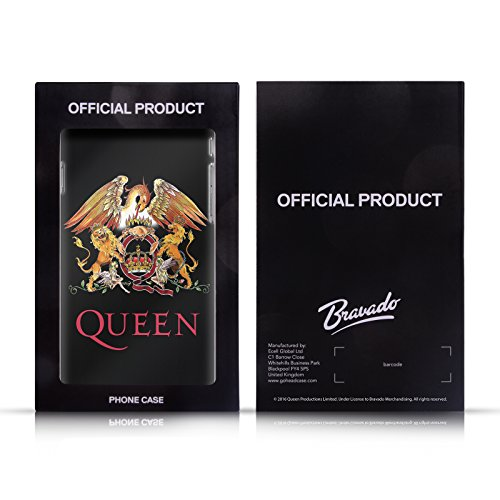 Officiel Queen Freddie Mercury Art Clé Étui Coque Hybride pour Apple iPhone 6 Plus / 6s Plus