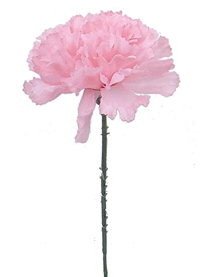 Amazon 100 carnations 5 pink artificial silk flower pick 100 carnations 5quot pink artificial silk flower pick multiple colors available mightylinksfo