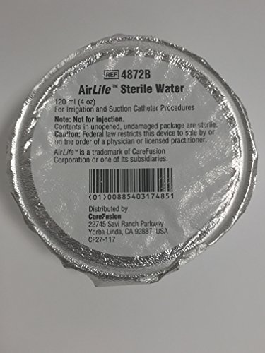 Sterile Water Bottles - AirLife Sterile Water 120ml 4 Pack