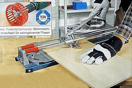 Professionale piastrelle tagliabaffi 500 mm piastrelle foro