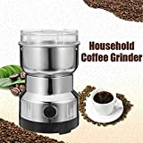 Electric Spice and Coffee Grinder, Electric Coffee Grinder- Coffee Bean Grinders Household Electric Coffee Grinding Machine Mill Pulverizer
