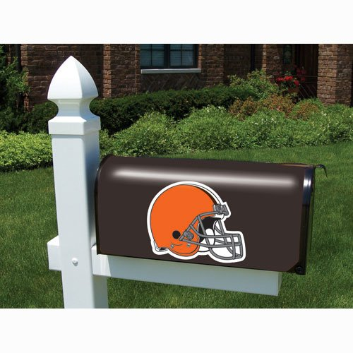 Cover Mailbox Team (Cleveland Browns NFL Vinyl Mailbox Cover)