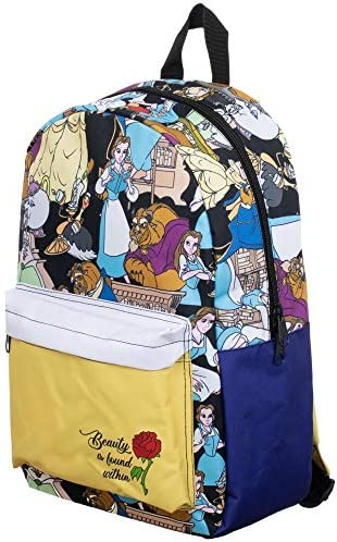 Disney Beauty the Beast Sublimated Backpack