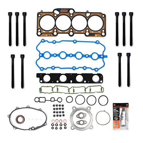 New TS2631800HB MLS Head Gasket Set & Head Bolt Kit For 4-Cylinder DOHC TURBOCHARGED 2.0L 2005-09 Audi A3 A4 TT Quattro Volkswagen EOS Gti Jetta Passat