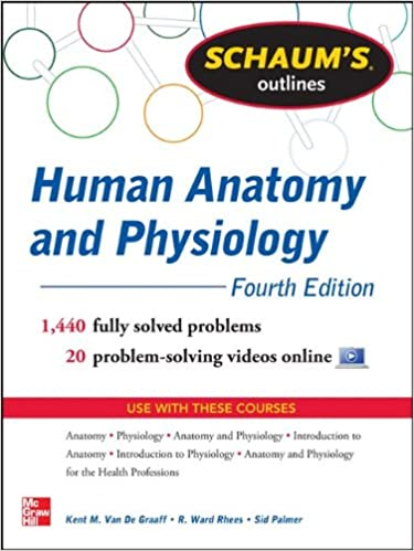 Schaum\'s Outline of Human Anatomy and Physiology: 1, 440 Solved ...