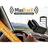 MasTrack OBD Real Time GPS Vehicle Tracker with Backup Battery
