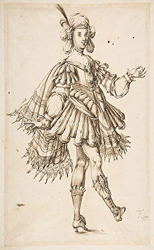 Male Figure in Ballet Costume Poster Print by T Remy (active 17th century) (18 x 24)