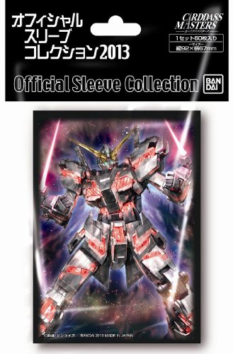 Bandai Carddass Masters Gundam UNICORN Destroy Mode Character Card Sleeves MTG TCG CCG Anime Game 60pcs