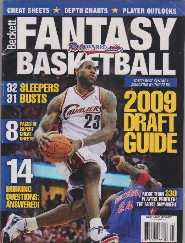 Beckett Fantasy Basketball Magazine October/November 2009 LeBron James