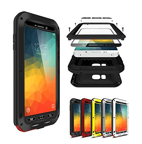Note 5 Case Cover , bpowe Armor Tank Aluminum Metal Shockproof Military Heavy Duty sturdy Protector Cover Hard Case for Samsung Galaxy Note 5 N920 ()