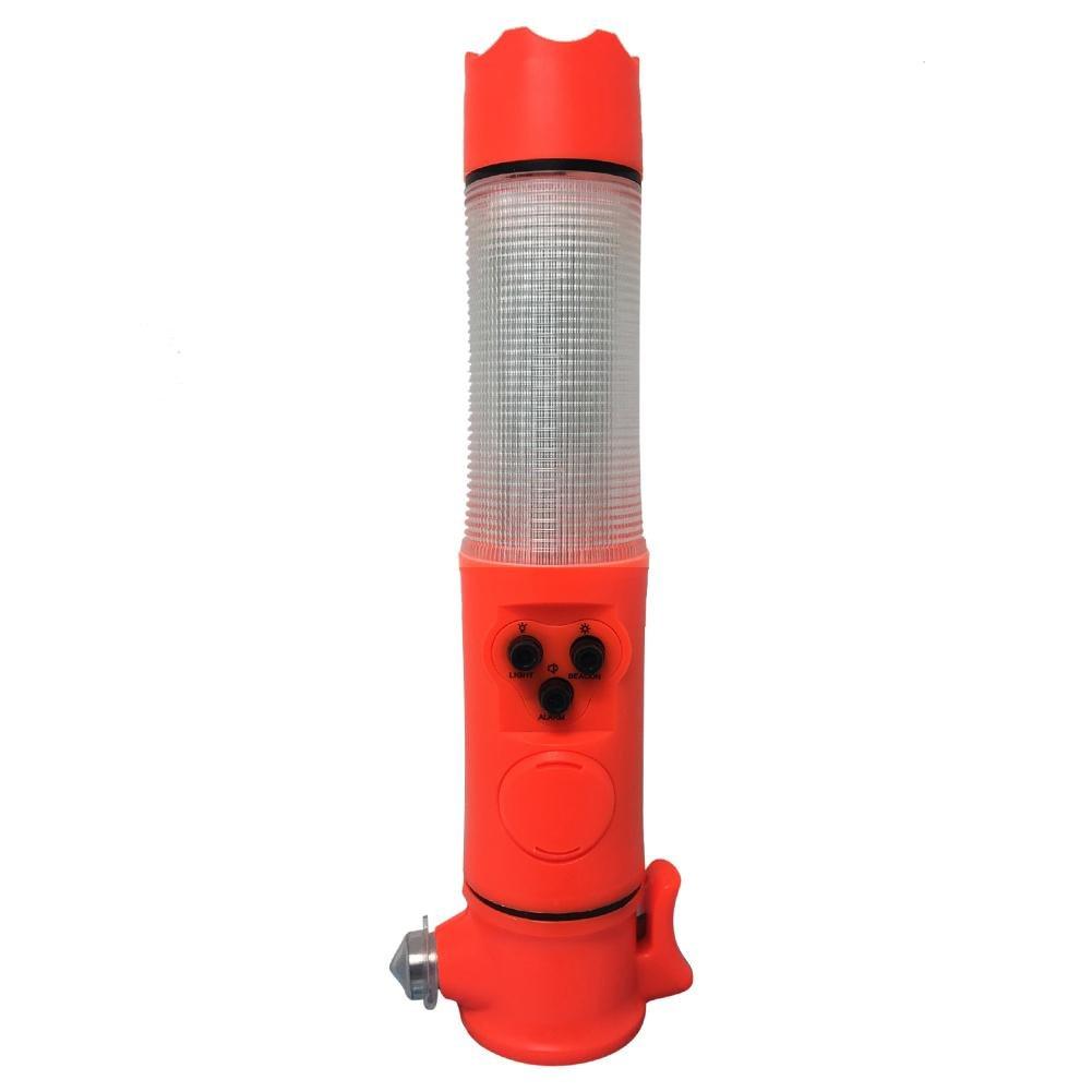 Nothammer Gurtschneider Taschenlampe Licht Gurt Schneider  Rettungswerkzeug NEU!