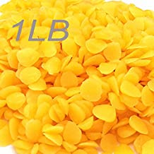 1 POUND Organic Yellow Beeswax Pure beads Pellets Triple Filtered Pastilles TO289