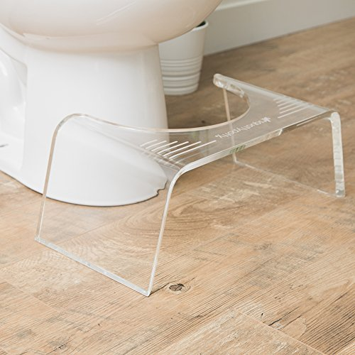 Squatty Potty Ghost Acrylic Toilet Stool, 7'' by Squatty Potty (Image #2)