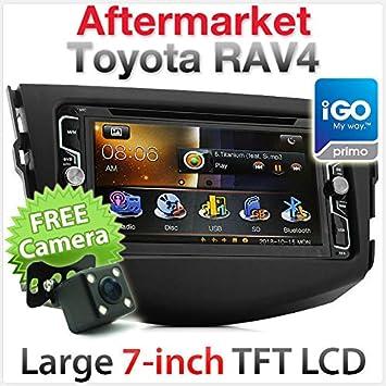 Toyota RAV4 - Reproductor GPS para Coche, Reproductor de DVD, Reproductor de GPS y navegador: Amazon.es: Coche y moto