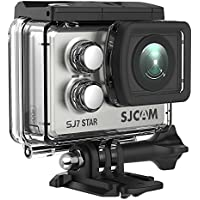 SJCAM SJ7 Star Real 4K Action Camera Wifi Waterproof Underwater Camera Ambarella Chipset 30FPS/Sony Sensor 12MP, 2 Touchscreen Gyro Stabilization-Silver