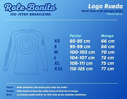 Role Bonito Rash Guard BJJ Manga Larga