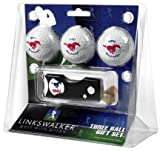 Southern Methodist Mustangs SMU NCAA Spring Action 3 Golf Ball Gift Packs