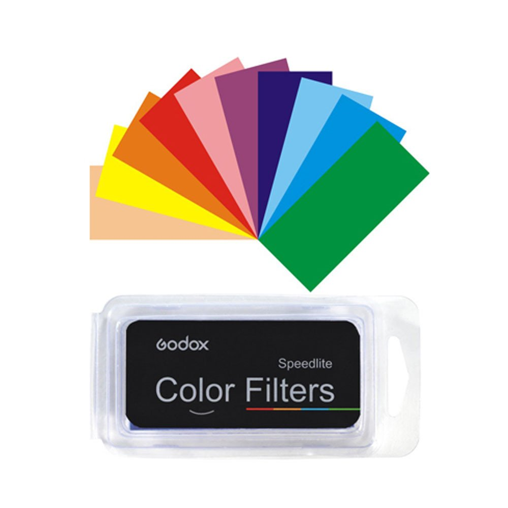 Godox Cf 07 7 Colors 35pcs Universal Color Gel Filter Viltrox 20pc Strobist Flash For Speedlight Diffuser Camera Photo