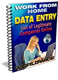 Work From Home Data Entry: List of Legitimate Companies Online
