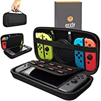 Orzly Carry Case Compatible With Nintendo Switch - BLACK...