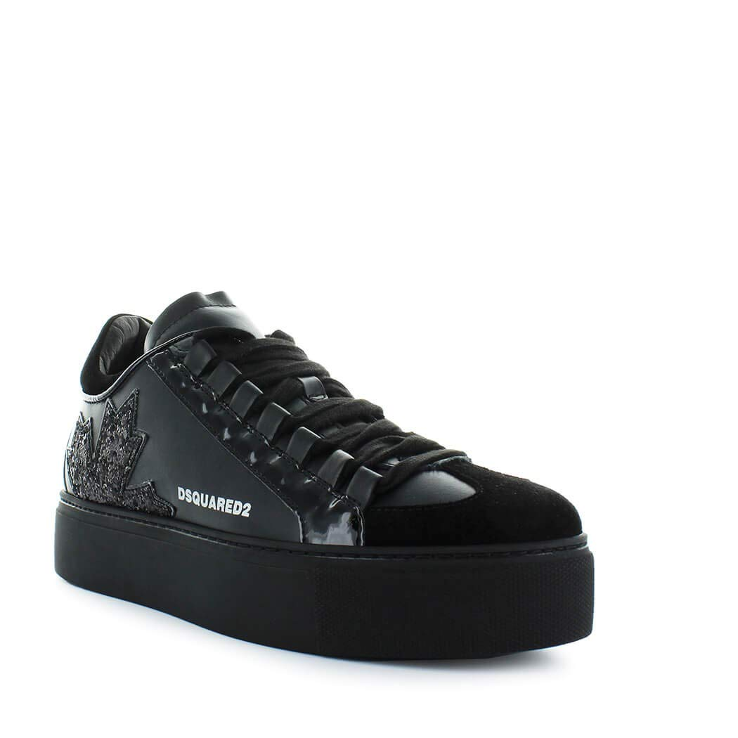 9d59b637af59 Women s Shoes Dsquared2 Canadian Team Black Sneaker Fall Winter 2019   Amazon.co.uk  Shoes   Bags